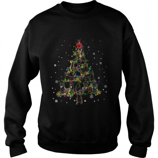 Dutch Shepherd Christmas Tree TShirt Sweatshirt