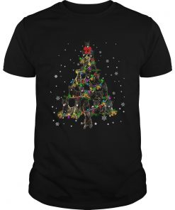 Dutch Shepherd Christmas Tree TShirt Unisex