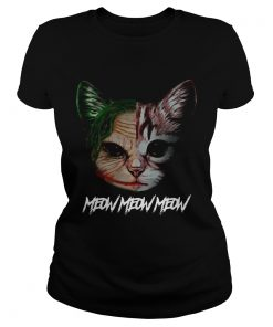 Face of Joker cat meow meow meow  Classic Ladies