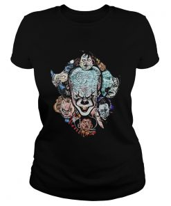 Face of Pennywise mashup Horror Character  Classic Ladies