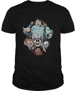 Face of Pennywise mashup Horror Character  Unisex