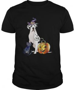 Great Dane Dog Halloween Harlequin  Unisex