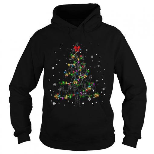 Groenendael Christmas Tree TShirt Hoodie