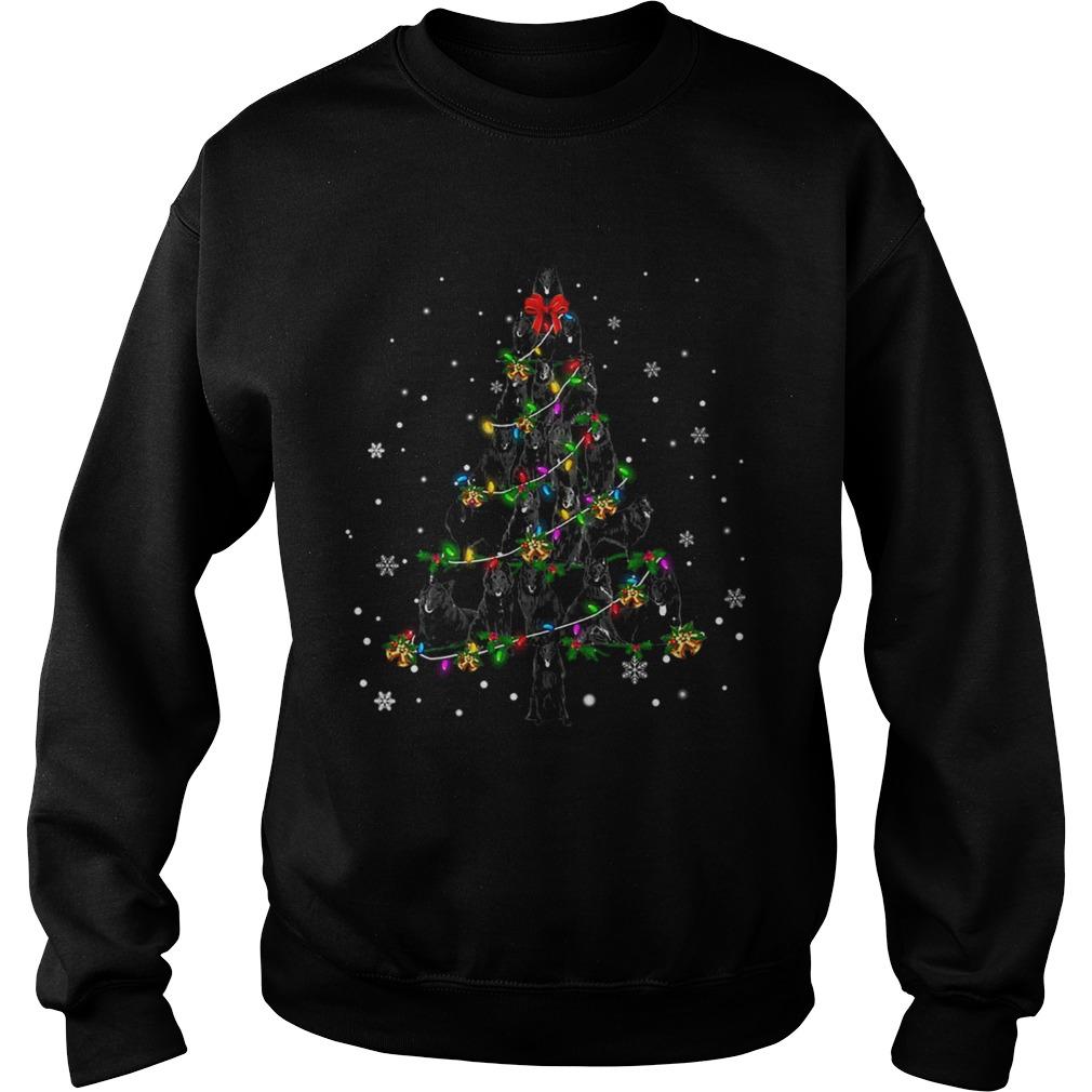 Groenendael Christmas Tree TShirt Sweatshirt