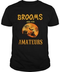 Halloween Brooms Are For Amateurs Motorcycle TShirt Unisex