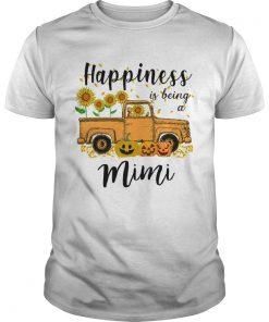 Halloween Car Pumpkin Happiness Is Being A Mimi TShirt Unisex