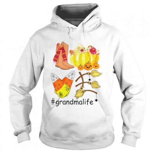 Halloween Pumpkin Love Grandmalife Grandma Life TShirt Hoodie