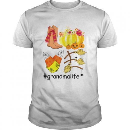 Halloween Pumpkin Love Grandmalife Grandma Life TShirt Unisex