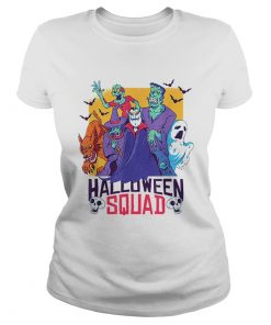 Halloween Squad Spooky Scary Ghosts  Classic Ladies
