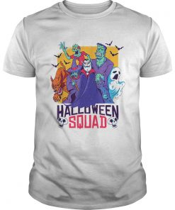 Halloween Squad Spooky Scary Ghosts  Unisex