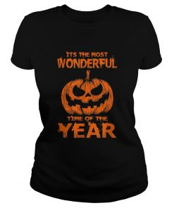 Halloween The Most Wonderful Time Of The Year  Classic Ladies