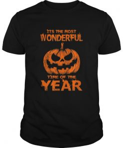 Halloween The Most Wonderful Time Of The Year  Unisex