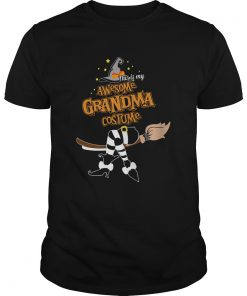 Halloween This Is My Awesome Grandma Costume Shirt Unisex