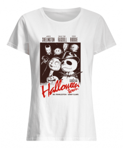 Halloween Town Jack Skellington Poster  Classic Women's T-shirt