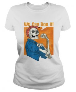 Halloween We Can Boo It Skeleton  Classic Ladies