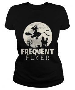 Halloween Witch Costume Frequent Flyer  Classic Ladies