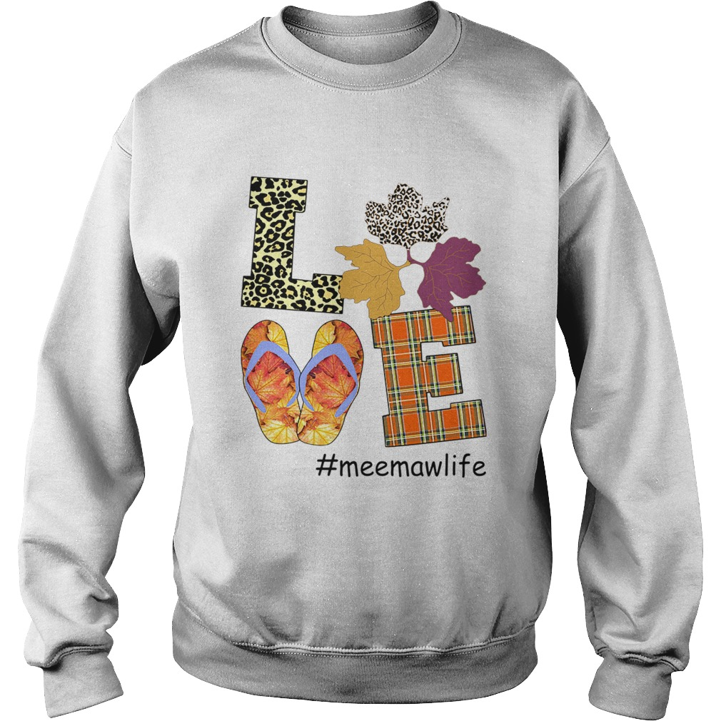 Halloween Women Mom Love Meemawlife Meemaw Life TShirt Sweatshirt