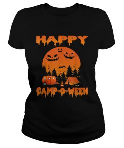 Happy CampOWeen Funny Camping Halloween for Women  Classic Ladies