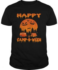 Happy CampOWeen Funny Camping Halloween for Women  Unisex