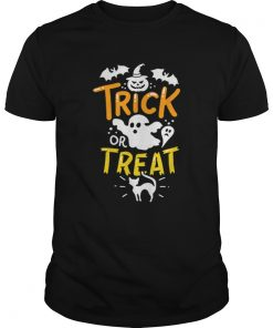 Happy Halloween Trick Or Treat Party Ghost Bat  Unisex