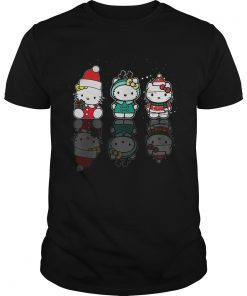Hello Kitty Christmas Reflection Mirror Water Shirt Unisex