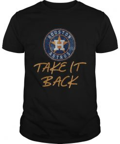 Houston Astros take it back  Unisex