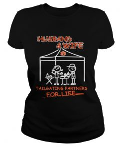 Husband wife Auburn Tigers Tailgating partners  Classic Ladies