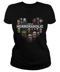 I Am A Horroraholic Halloween Day 2019  Classic Ladies