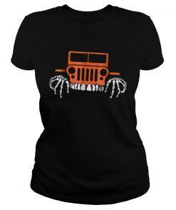 Jeep Halloween Funny  Classic Ladies