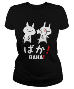 Kawaii Neko Baka TShirt Classic Ladies