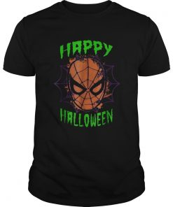 Marvel SpiderMan Mask Happy Halloween Graphic  Unisex