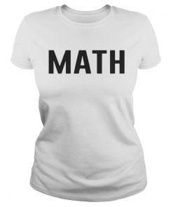 Math teacher  Classic Ladies