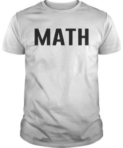 Math teacher  Unisex