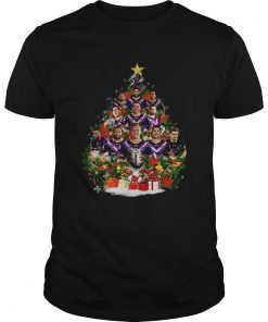 Melbourne Storm team players Christmas tree  Unisex
