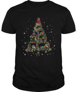 Neapolitan Mastiff Christmas Tree TShirt Unisex