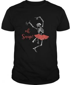 Oh snap Skeleton love Ballet Halloween  Unisex