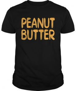 Peanut Butter Halloween Matching Costume jelly TShirt Unisex