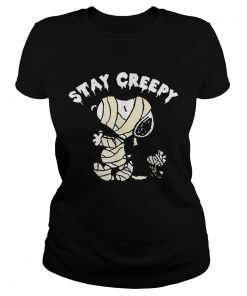 Peanuts Halloween Snoopy Stay Creepy  Classic Ladies