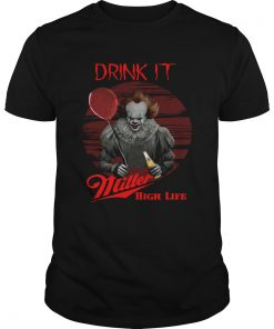 Pennywise Drink IT Miller High Life  Unisex