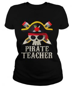 Pirate Teacher For Halloween Costume Gift  Classic Ladies