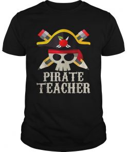 Pirate Teacher For Halloween Costume Gift  Unisex