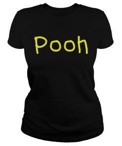 PoohNickname First Name Gift Halloween Costume T Shirt Classic Ladies