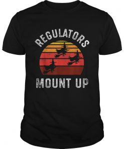 Regulators Mount Up Halloween Witch  Unisex