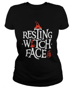 Resting Witch Face Shirt Original Halloween Shirt Classic Ladies