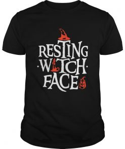 Resting Witch Face Shirt Original Halloween Shirt Unisex