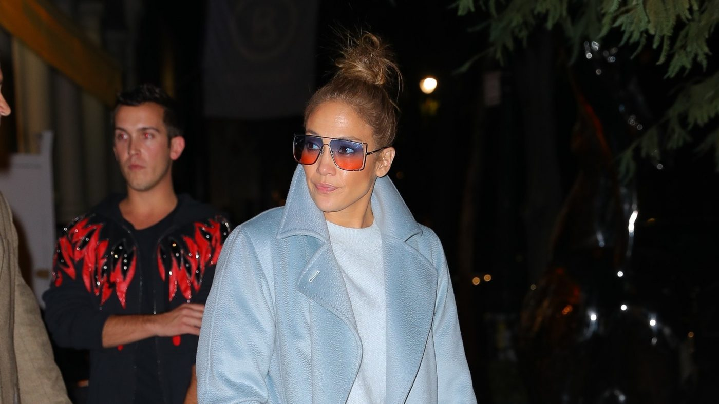 Jennifer Lopez Is on Board With the Sleazy-Chic Trend