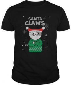 Santa Claws Cat Ugly Christmas  Unisex