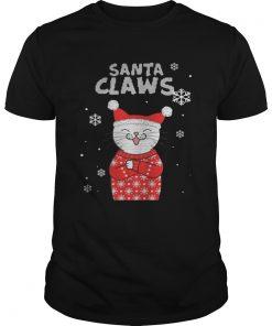 Santa Claws Cute Cat Ugly Christmas 2020 TShirt Unisex