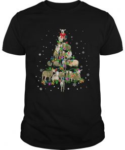 Sheep Christmas Tree TShirt Unisex