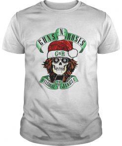 Skull Santa Guns N Roses GNR welcome to the Jingle  Unisex